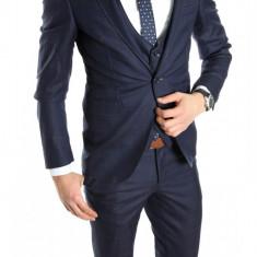 Costum tip ZARA - sacou + pantaloni - vesta costum barbati casual office - 6152