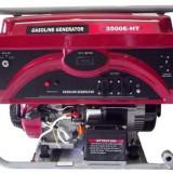 Generator curent - Weima Generator WM-3500E-HT, 3.2 kW, benzina, pornire electrica+baterie, cu roti