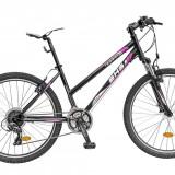 Mountain Bike DHS - Bicicleta TERRANA 2624 - model 2015-Negru - OLN-ONL8-21526240000|Negru|Cadru 420 mm