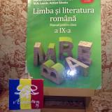 """Manual Clasa a IX-a, Romana - Adrian Costache - Limba si literatura romana manual pentru clasa a IX a """"A3102"""""""