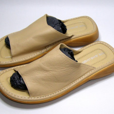Slapi barbati marca Pepe Jeans interior exterior piele marimea 45 (P572_1)