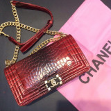 Chanel Le Boy Gold Accesories * Medium Size *