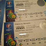 2 bilete la Franta - Romania EURO 2016 (Cat 2)