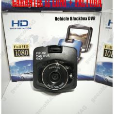 DVR Camera auto Full HD 1080P GARANTIE 12 LUNI Filmare Ciclica Senzor G - Camera video auto, 32GB, Wide, Single, miniUSB