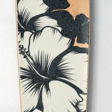 Skateboard inSPORTline, Copii - Longboard DROP SHAPE - Flower - nou