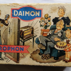 MICROFON RADIO LAMPI VECHI -MODEL RAR INEDIT -DAIMON MICROPHON Nr 2222 -GERMANIA