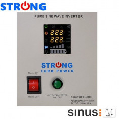 UPS 800VA 500W STRONG-800E pentru centrale termice