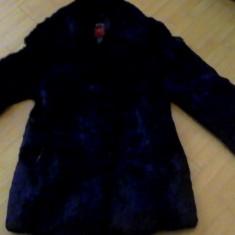 Haina de blana - Palton dama, Marime: 40/42, Culoare: Negru