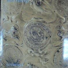 Carte Istoria artei - Faberge, Casete din aur si argint, Catalog Licitatii Geneva 1998