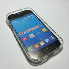 Husa silicon Samsung Galaxy Ace 4 G357 FZ - Husa Telefon Samsung, Transparent, Silicon, Husa