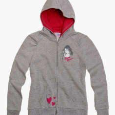 Jacheta sweat Disney Violetta gri