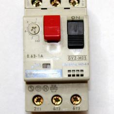 Intreruptor tripolar Telemecanique GV2M05 0.63-1A(625)
