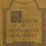 Marina Bucataru - Stiluri si ornamente la mobilier - 561737