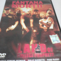 FILM THRILLER LAND OF COLLEGE PROPHETS-FANTANA MORTII, SUBTITRARE ROMANA, ORIGINAL, DVD
