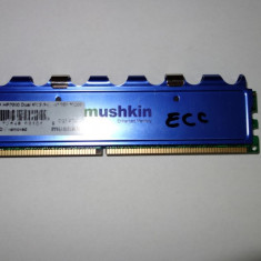 Memorie ram server mushkin ECC 1 GB DDR1 - Memorie server Muskin