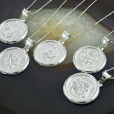 Lantisor argint - Lant de Argint 925, cu Pandantiv Zodie, cod 335