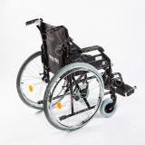 Carucior handicap pliabil cu detasare rapida a rotilor Ortomobil 040202 - 43 cm - Scaun cu rotile