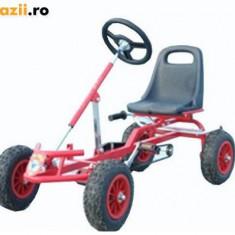 Kart-cart cu pedale 4-6 ani, Unisex, Rosu