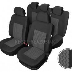 Set huse scaun model Perun pentru Dacia Logan, set huse auto Fata + Spate - Husa Auto