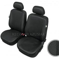 Huse scaune auto imitatie piele Renault Scenic set huse fata - Husa Auto