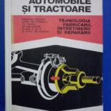 Automobile si tractoare - M. Constantinescu / R6P1S - Carti auto