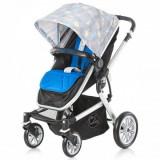 Carucior multifunctional Brillo London blue Chipolino - Carucior copii 2 in 1