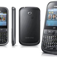 Telefon Samsung, Negru, 8GB, Neblocat, Single SIM, Fara procesor - Samsung Chat 335, tastatura qwerty