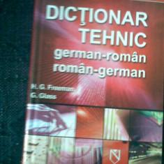 Dictionar tehnic german roman roman german niculescu