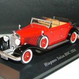 Macheta ixo 1/43 hispano suiza - Macheta auto