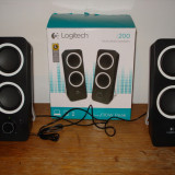 Boxe stereo logitech Z200 pentru calculator laptop telefon