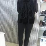 Bluza neagra eleganta H&M mas.S