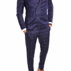 Costum tip ZARA - sacou + pantaloni costum barbati casual office - 6442