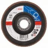 Disc de slefuire evantai Bosch X571 Best for Metal 125 mm 2223 mm 80