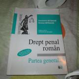Drept penal roman - Carte Drept penal