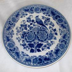 Farfurie - portelan Olanda - Delft Blue - pictata manual - Boch
