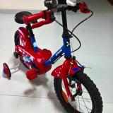 Bicicletă 14 Calipo Albastru/Roşu Copii B'TWIN