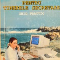 MANAGEMENT PENTRU TINERELE SECRETARE, GHID PRACTIC de MARIA POPESCU, 1995 - Carte de vanzari