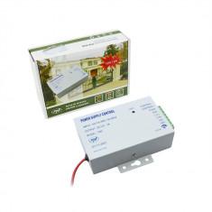 Resigilat - Sursa de tensiune cu temporizare PNI K80 12V si 3A pt. yale si control acces - Sisteme de alarma