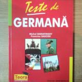 TESTE DE GERMANA de MICHEL BARIATINSKY , FRANCINE SAUCIER