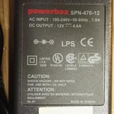 Alimentator Incarcator powerbox 12V 4, 6A SPN-470-12