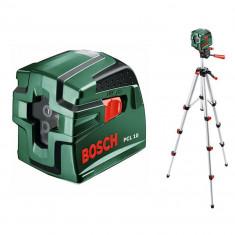BOSCH PCL 10 Nivela laser cu linii + Stativ Nivela laser cu linii + Stativ...