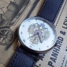 Ceas de mana - Ceas rusesc de colectie POBEDA stema imperiului rus, functional
