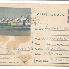 @carte postala(122/75) -INTREG-AVIATIE - Carte Postala Dobrogea dupa 1918, Necirculata, Printata