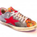 Sneakers barbati ISHIKAWA hand made vintage size 43 - Adidasi barbati, Marime: 40, Culoare: Din imagine