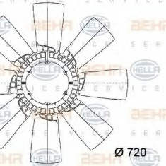 Paleta ventilator, racire motor - HELLA 8MV 376 733-201 - Ventilatoare auto
