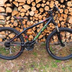 Bicicleta GHOST 4X COMP Dirt bike (nu scott, merida, giant, trek, cube, ktm - Mountain Bike, 16 inch, 26 inch, Numar viteze: 24
