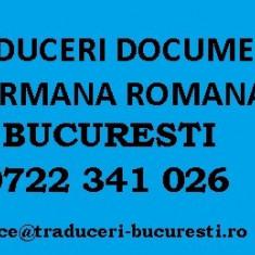 Traduceri documente germana-romana
