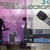 Set 2 microfoane wireles WVNGR WG-2009