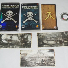 Joc Sony Playstation portable PSP - Resistance Retribution Collector's Edition - Jocuri PSP Sony, Curse auto-moto, Toate varstele, Single player