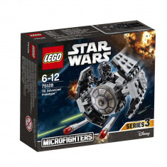 LEGO STAR WARS 75128 - TIE Advanced Prototype, 6-10 ani